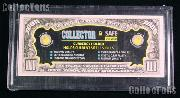 Collector Safe Snap-Lock Modern Currency Bill Holder