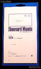 Showgard Pre-Cut Black Stamp Mounts Size 165/94
