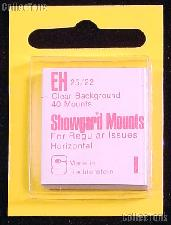 Showgard Pre-Cut Clear Stamp Mounts Size EH25/22