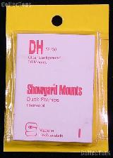 Showgard Pre-Cut Clear Stamp Mounts Size DH52/36