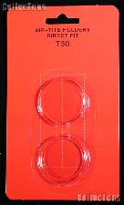 "Air-Tite Coin Capsule Direct Fit ""T30"" Coin Holder for HALF DOLLARS"