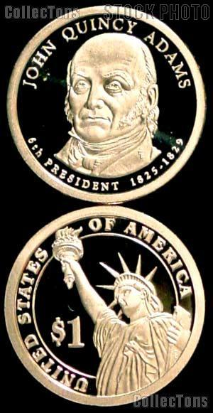 2008-S John Quincy Adams Presidential Dollar GEM PROOF Coin