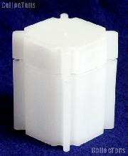 CoinSafe Square Coin Tube for 20 HALF DOLLARS