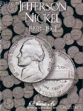 Harris Jefferson Nickels 1938-1961 Coin Folder  2679