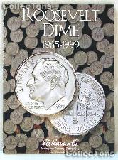Harris Roosevelt Dimes 1965-1999 Coin Folder  2685