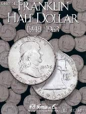 Harris Franklin Half Dollars 1948-1963 Coin Folder 2695