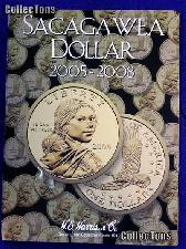Harris Sacagawea Dollars 2005-2008 Coin Folder 2943
