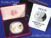 1992 Silver Eagle PROOF In Box with COA 1992-S American Silver Eagle Dollar Proof