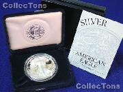 1994 Silver Eagle PROOF In Box with COA 1994-P American Silver Eagle Dollar Proof