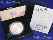 2003 Silver Eagle PROOF In Box with COA 2003-W American Silver Eagle Dollar Proof