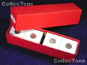Single Row Storage Box & 100 2x2 Holders for CENTS