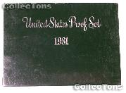 1981 PROOF SET * ORIGINAL * 6 Coin U.S. Mint Proof Set