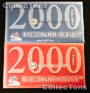 2000 U.S. Mint Uncirculated Set - 20 Coins