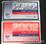 2002 U.S. Mint Uncirculated Set - 20 Coins