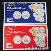 2004 U.S. Mint Uncirculated Set - 22 Coins
