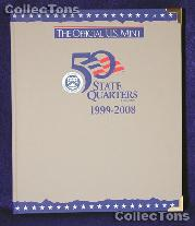 U.S. Mint Statehood Quarters P&D Album #1687