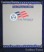 U.S. Mint Blank Nickels Album #1723