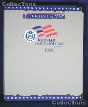 U.S. Mint Kennedy Half Dollars 1988-2000 Album #1751
