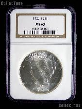 1923-S Peace Silver Dollar in NGC MS 63