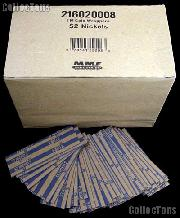 1000 Flat Kraft Paper Coin Wrappers for 40 NICKELS