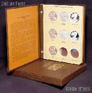 Silver Eagle 7 Year Set BU, PROOF & BURNISHED American Silver Eagle Dollars 2007 to Date w/ Dansco Album & Archival Slipcase