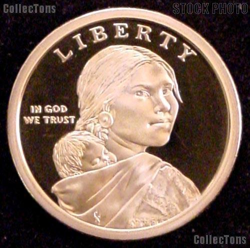 2009-S Native American Sacagawea Golden Dollar - PROOF