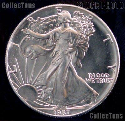 1987 American Silver Eagle Coin Value American Eagle