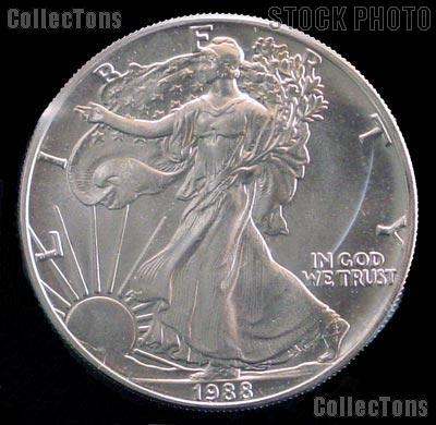 1988 American Eagle Silver Dollar Value American Eagle