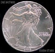 1998 American Silver Eagle Dollar BU 1oz Silver Uncirculated Coin