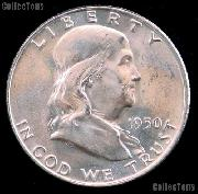 1950-D Franklin Half Dollar Silver * Choice BU 1950 Franklin Half