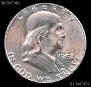 1952 Franklin Half Dollar Silver * Choice BU 1952 Franklin Half