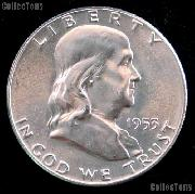 1953-S Franklin Half Dollar Silver * Choice BU 1953 Franklin Half