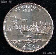 Minnesota Quarters 2005 P & D Minnesota Washington Quarters GEM BU