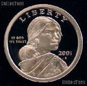 2001-S Sacagawea Dollar GEM Proof 2001 Sacagawea SAC Dollar