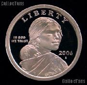 2006-S Sacagawea Dollar GEM Proof 2006 Sacagawea SAC Dollar