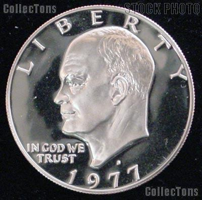 1977-S Eisenhower Dollar Clad GEM Proof 1977 Ike Dollar Proof