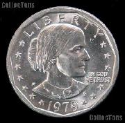 1979-P Susan B Anthony Dollar Type 2 Near Date GEM BU 1979 SBA Dollar
