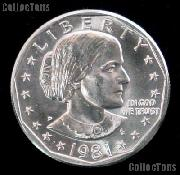1981-D Susan B Anthony Dollar GEM BU 1981 SBA Dollar