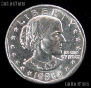 1981-P Susan B Anthony Dollar GEM BU 1981 SBA Dollarr