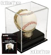 Baseball Holder Display by BCW Gold Glove Baseball Case