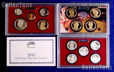 2010 SILVER PROOF SET * ORIGINAL * 14 Coin U.S. Mint Proof Set