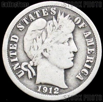 1912 Barber Dime G 4 Or Better Liberty Head Dime 4 99