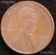 1916-D Wheat Penny Lincoln Wheat Cent Circulated G-4 or Better