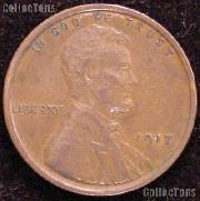 1917 Wheat Penny Lincoln Wheat Cent Circulated G-4 or Better