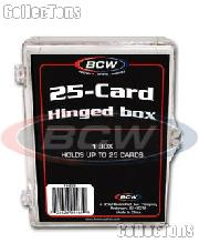 Trading Card Hinged Box for 25 Cards By BCW