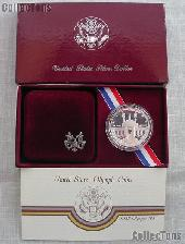 1984-S Los Angles Olympiad Olympic Coliseum Commemorative Proof Silver Dollar