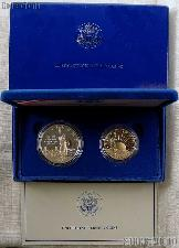 1986 Statue of Liberty Two Coin Commemorative PROOF Set