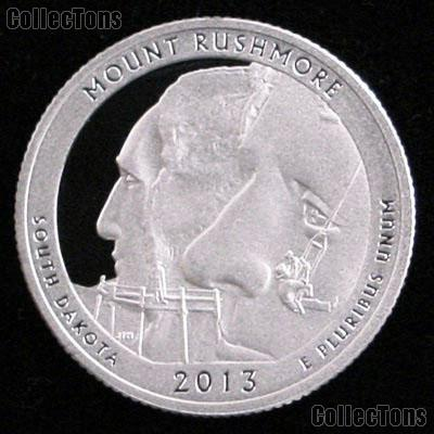2013-S South Dakota Mount Rushmore National Park Quarter GEM PROOF America the Beautiful