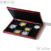 Coin Presentation Case 12 Coins in Quadrum XL Coin Holders VOLTERRA by Lighthouse
