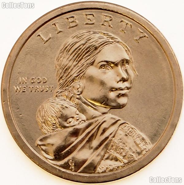 2013 P & D Native American Dollars BU 2013 Sacagawea Dollars SAC